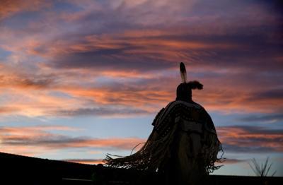 Native dance on Blackfeet reservation