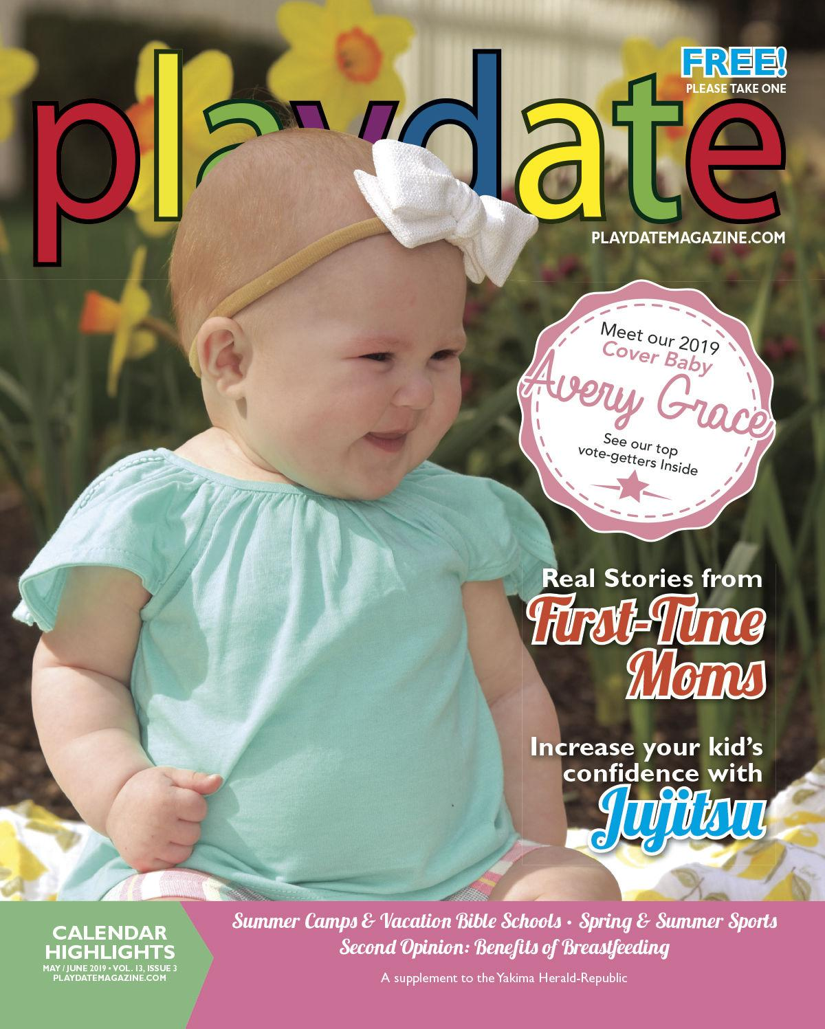 Meet Our 2019 Cover Baby: Avery Grace