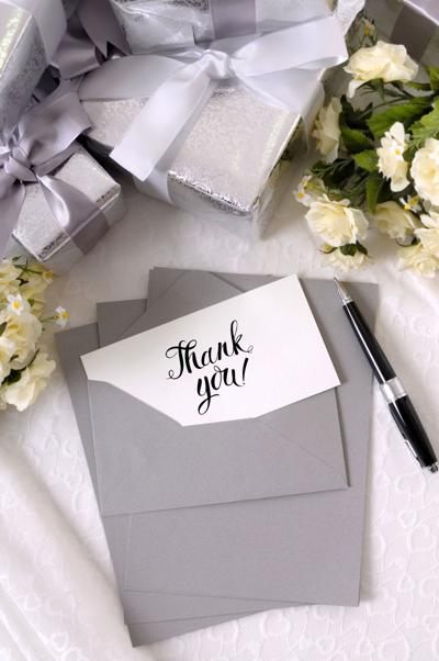 It's the 'Write' Thing To Do: Send Those Thank-You Notes