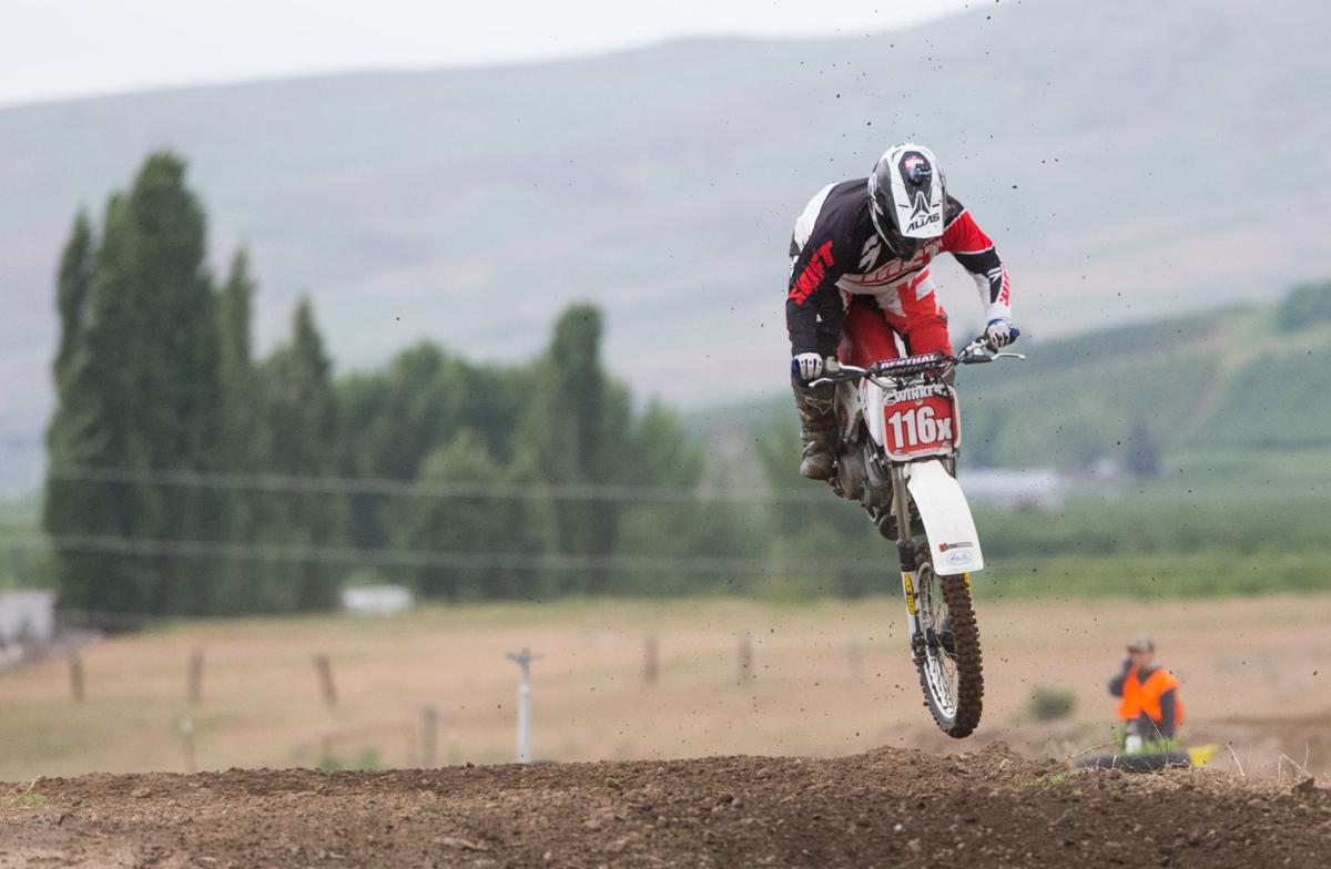 Vintage motocross racers kick up the dirt at annual Tieton event