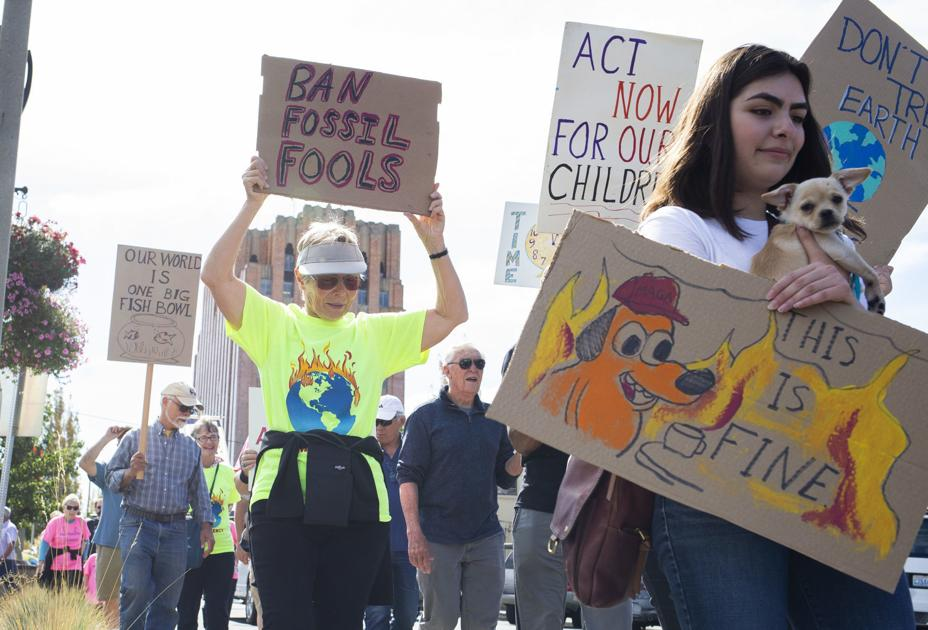 Yakima climate march highlights efforts to unite, take action and engage youth