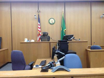 Yakima County Superior Courtroom