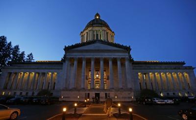 washington state captiol legislature government olympia standing