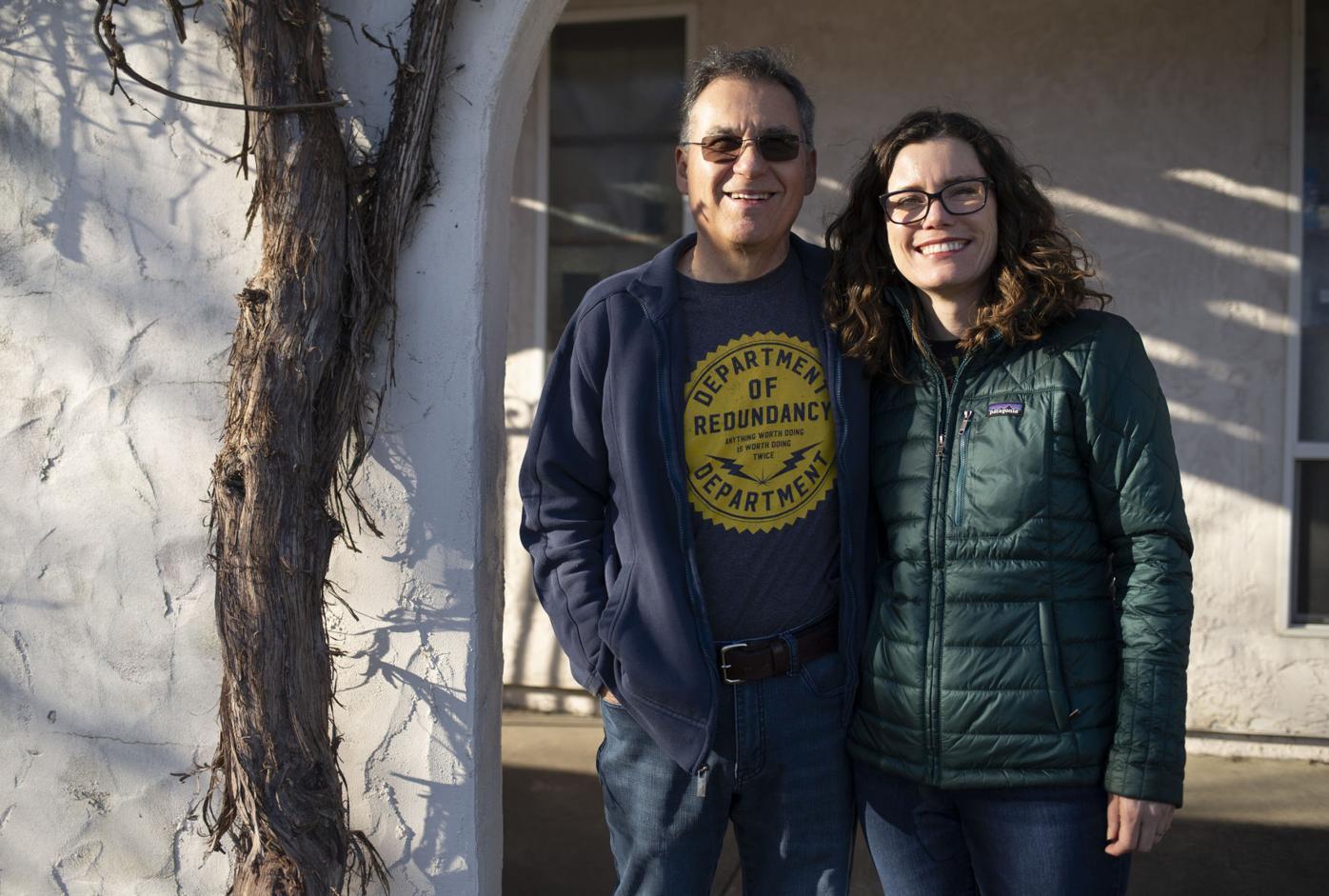 Phil Vasquez and Amy Vasquez