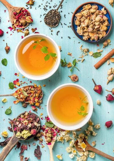 herbal tea - vertical