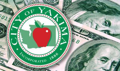yakima money budget seal city of Yakima council government cash spending standing