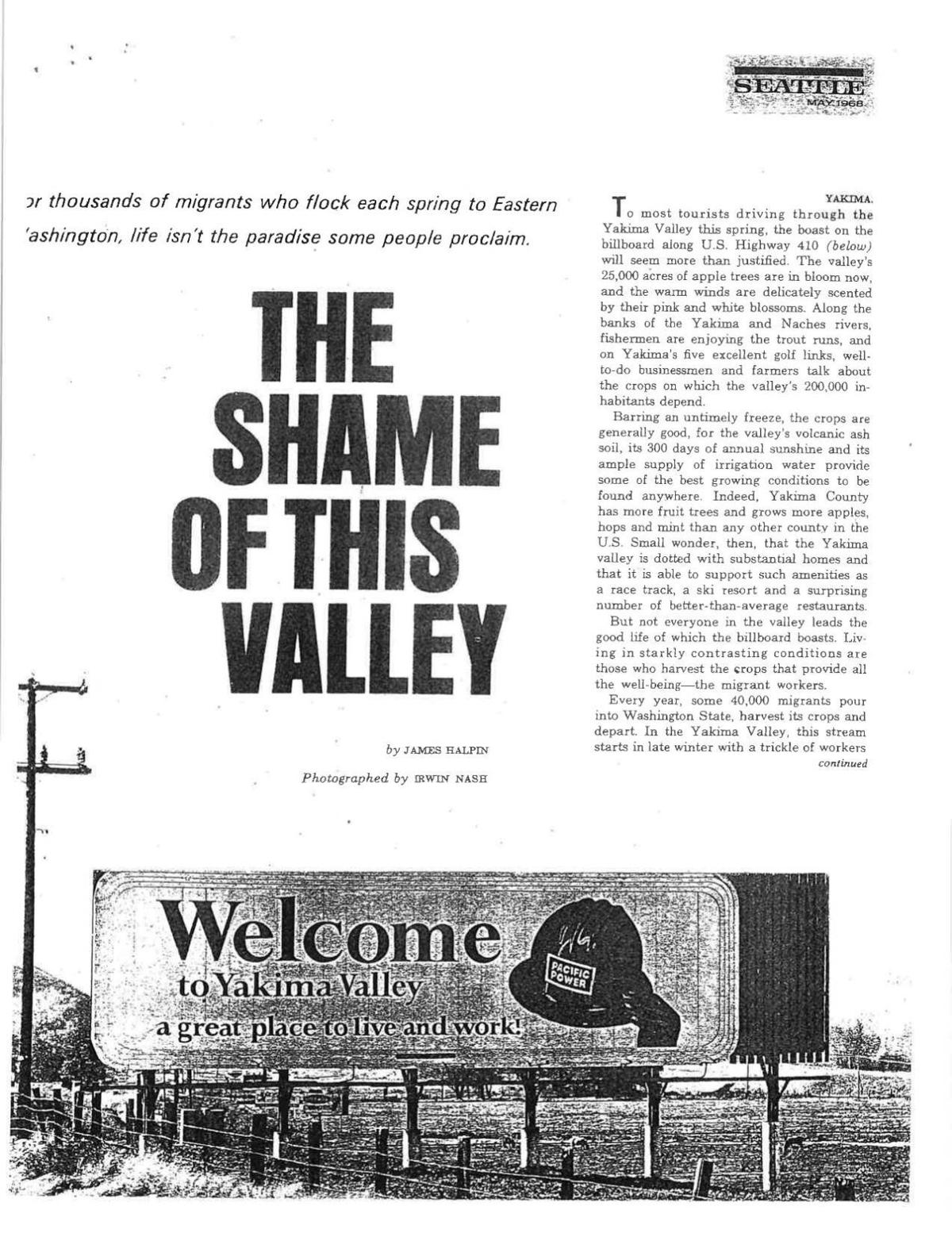 The Shame of This Valley