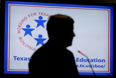 Texas history textbooks