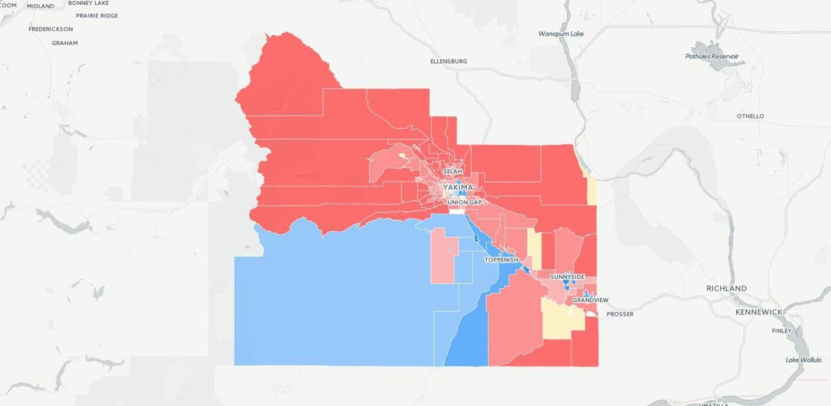 Precinct-by-precinct election results: How Yakima voted