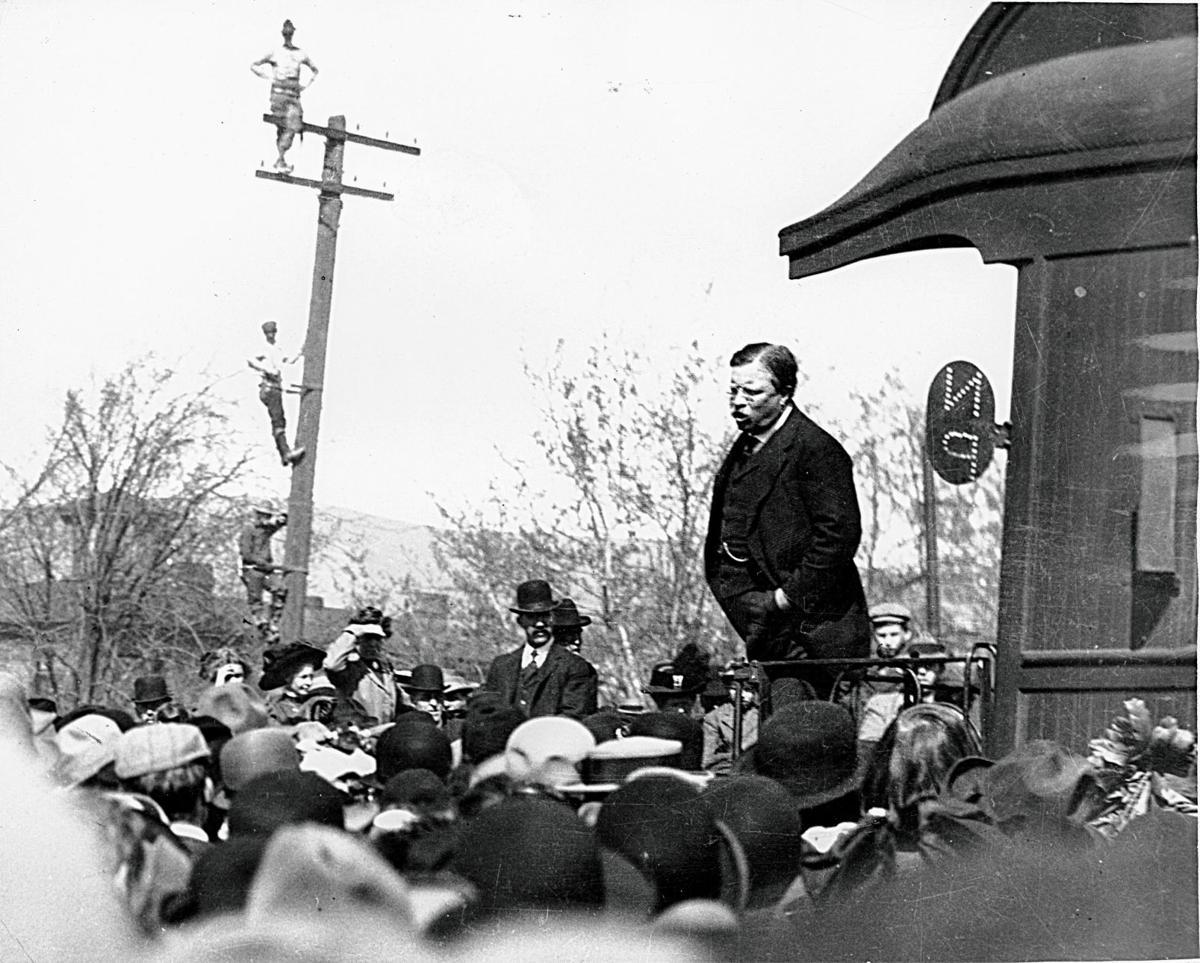 Roosevelt Train photo