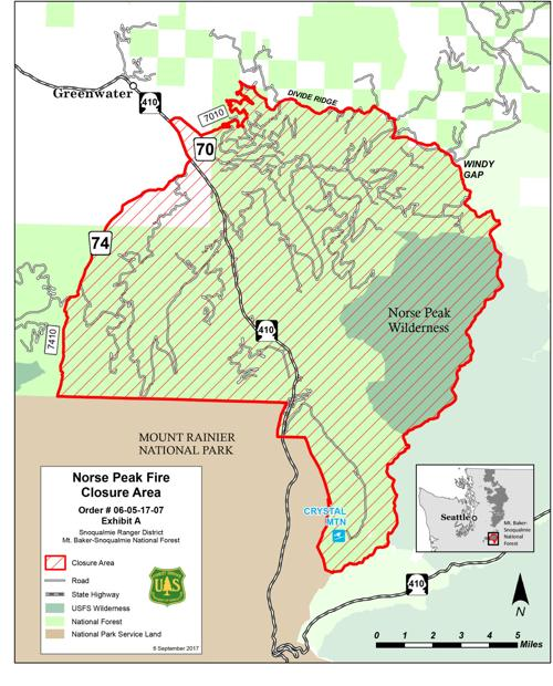 Norse Peak Forest Closure Map Yakimaherald Com