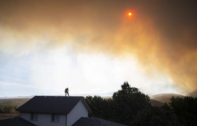Sept. 1, 2020 | Evans Canyon Fire