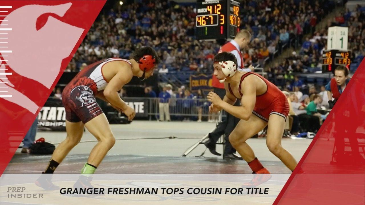 Highlight of the Night - Granger freshman tops cousin in emotional title  match at Mat Classic XXVIII