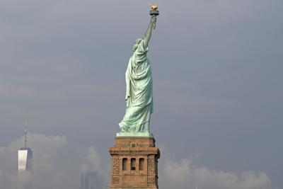 Immigration Statue Poem
