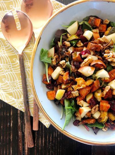 salt and stone fall harvest salad