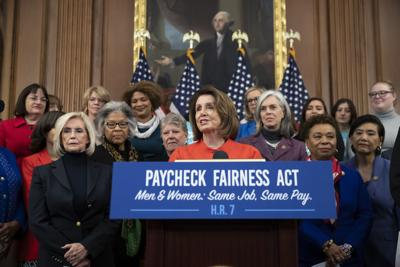 Congress Equal Pay