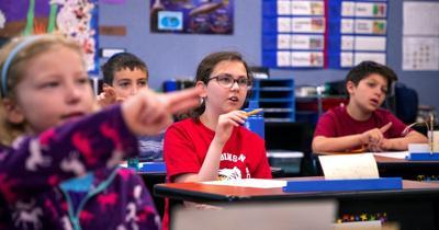 dyslexia classroom school students elementary standing