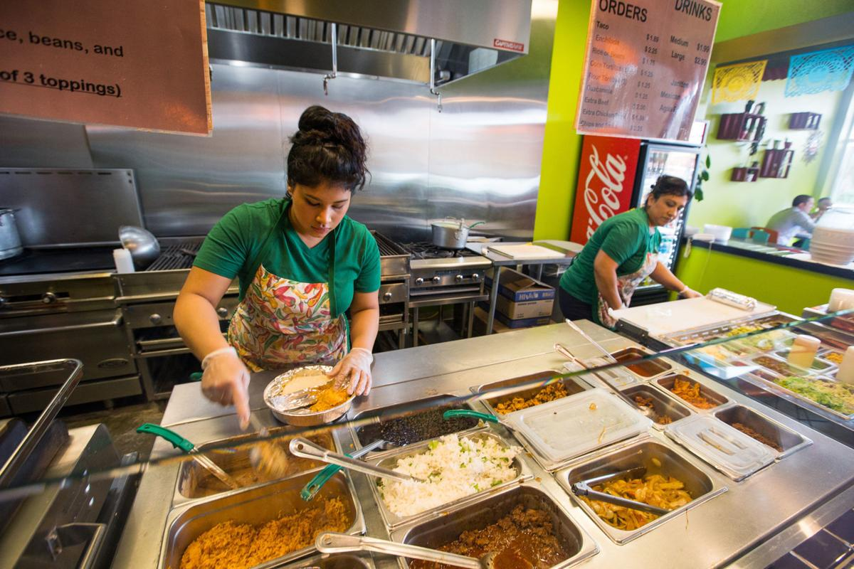 Norma Barrera and Claudia Navarro at Nino's Mexican Grill