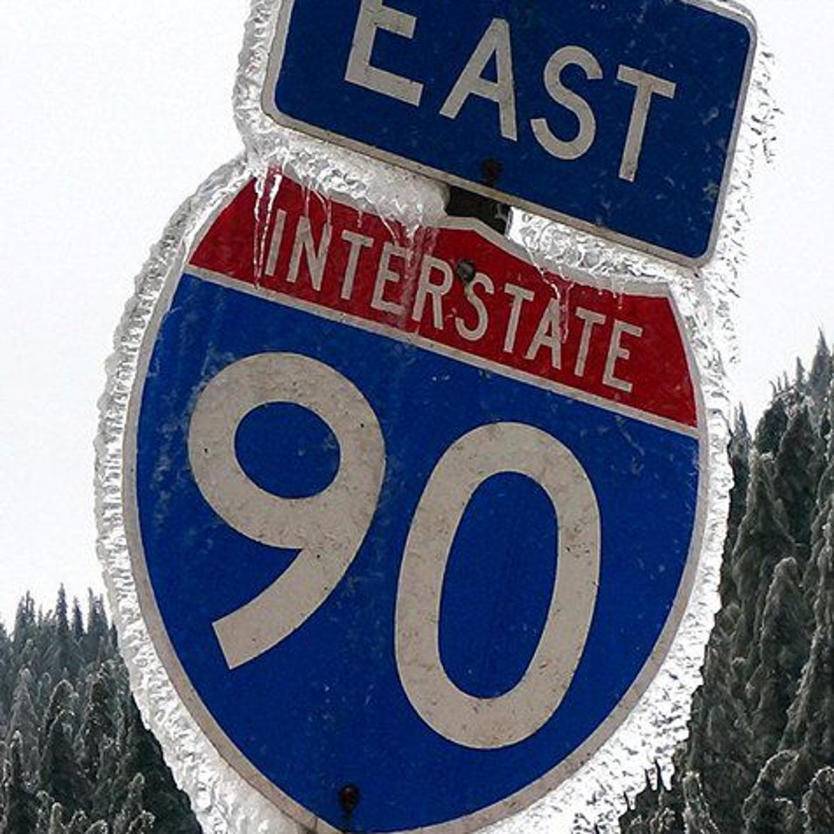 VIDEO: Interstate 90 reopens in both directions over