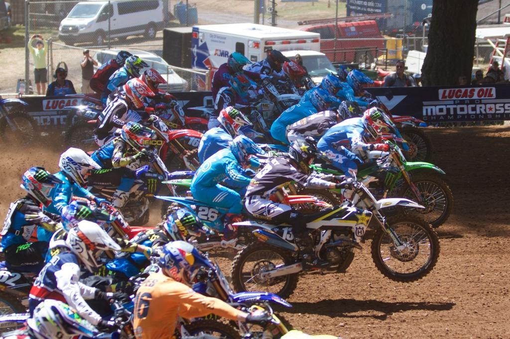 Washougal Lucas Oil Pro Motocross Championship - Late races