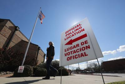 Election 2020-Voting-Latino Poll Workers