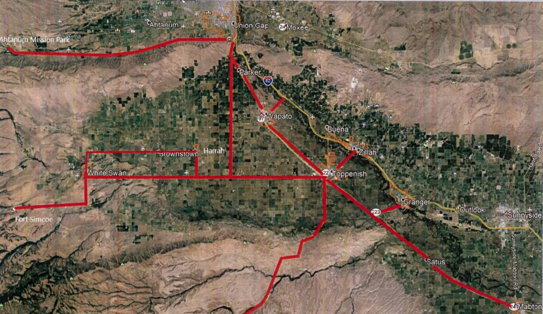 Pedestrian safety is an issue in the lower Yakima Valley. The Yakama Nation is working on plans for a new trail system