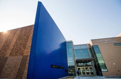 Ike blue wall