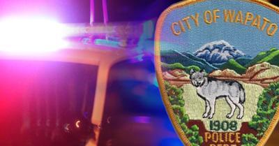 wapato police badge lights crime cops