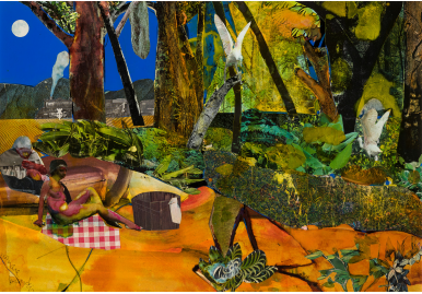 Reynolda House Museum of American Art announces promised gifts by Georgia O'Keeffe and Romare Bearden