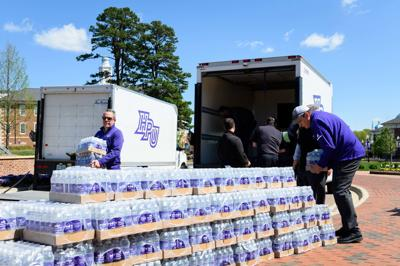 High Point University Family Supports Community During COVID-19 Pandemic