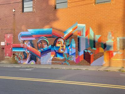 Winston-Salem mural project unveils first masterpiece
