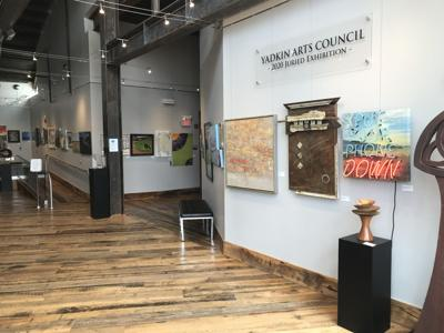 The Yadkin Arts Council Presents to host an in-person Opening Reception for their 10th Annual Juried Art Show July 1, 2021 at 5pm