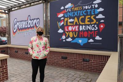 Friendly Center debuts new public art space
