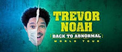Trevor Noah's 'Back To Abnormal World Tour' coming to White Oak Amphitheatre Friday, Sept. 24
