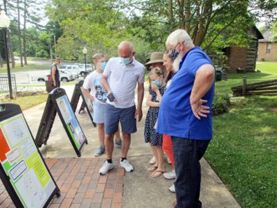 Students' Covid project displayed at H.P. Museum