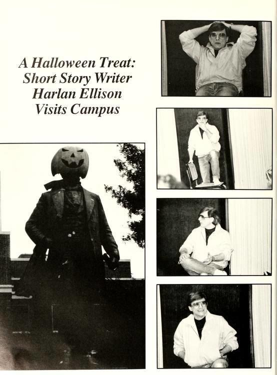 Page from 1986-87 yearbook Pine Needles courtesy of UNCG Archives