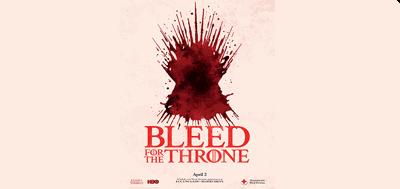 BleedForTheThrones_UNCarolinaGreensboro_PO
