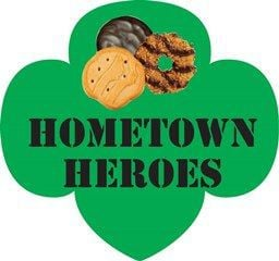 "Girl Scout Cookie Sales to Benefit ""Hometown Heroes"""