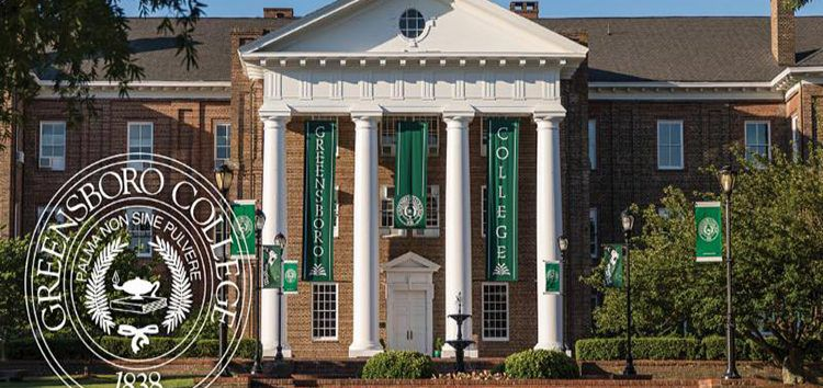 Greensboro-College-front-buidling_seal-image-750×354