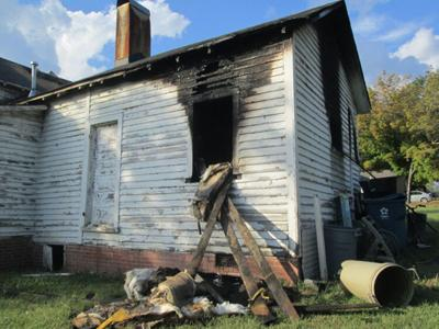 Oakdale Mill Village fire destroys a house and a home