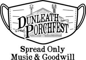 Enjoy a bite to eat, and bring a food donation when visiting Dunleath Porchfest!