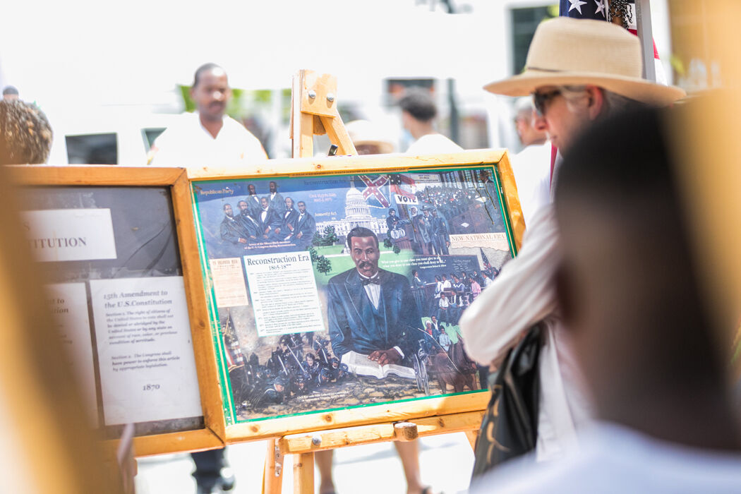 After a virtual event last year, the local Juneteenth Festival is back June 17-20 with live musical performances, spoken word, dance groups, food, exhibits, a variety of vendors and more.But the virtual experience has not disappeared.Triad Cultural Ar