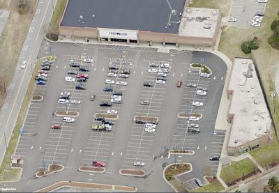 Forestdale Plaza Aerial