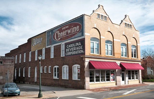 Cheerwine Building Today