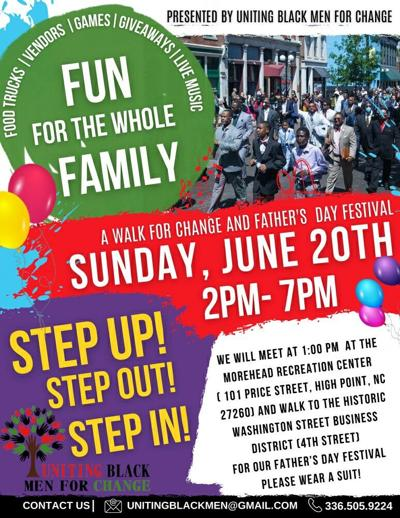 Organization invites Fathers to Step Up, Step Out, Step In this Father's Day