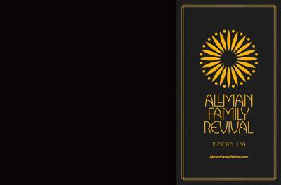 THE ALLMAN FAMILY REVIVAL UNVEILS MASSIVE 18-CITY TOUR: ERIC GALES PART OF CELEBRATION