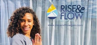 SPOTLIGHT-Stephany Standing in front of rise & Flow