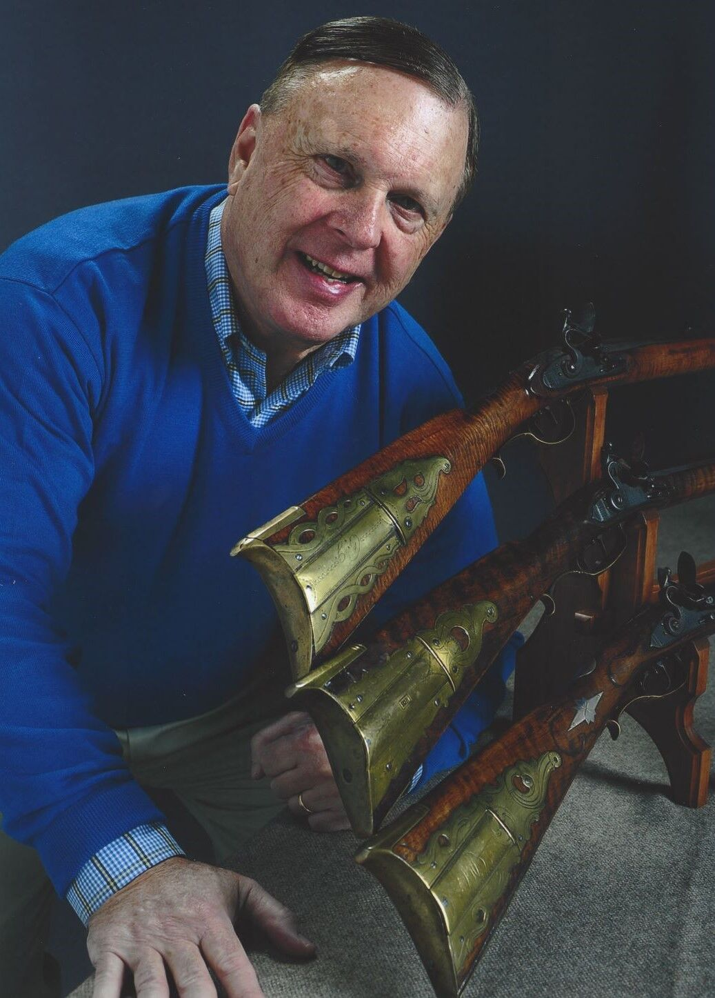 C. Michael Briggs Longrifle Collector and Author 3.jpg