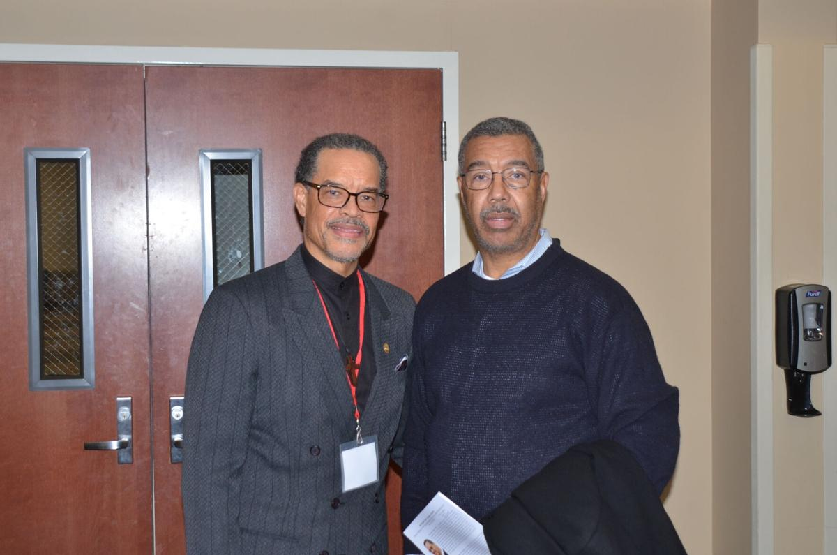 WSSU Event--Willard and Gary serving as panelists at a Winston-Salem State discussion on health equity.JPG