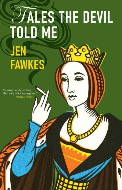 The villainous (and fabulous) fiction of Jen Fawkes